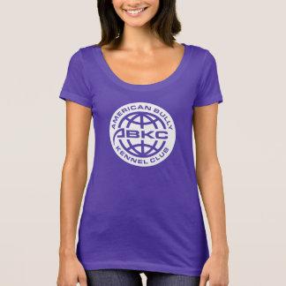 ABKCの女性の暗いTシャツ Tシャツ