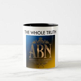 ABN全真実のマグ ツートーンマグカップ