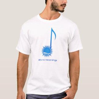 Aboraの録音のノートのTシャツ Tシャツ