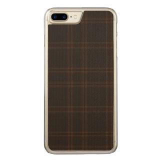 Aboyneの格子縞の湖 Carved iPhone 8 Plus/7 Plus ケース
