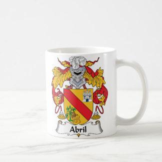 Abrilの家紋 コーヒーマグカップ