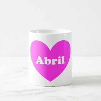 Abril コーヒーマグカップ
