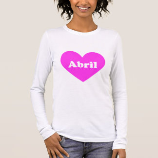 Abril Tシャツ