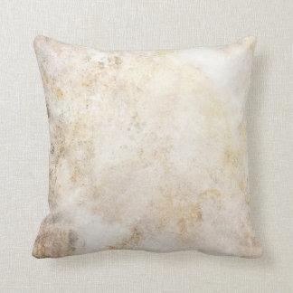 [ABS-BEI-1]ベージュ大理石の斑点 クッション