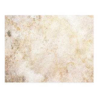 [ABS-BEI-1]ベージュ大理石の斑点 ポストカード