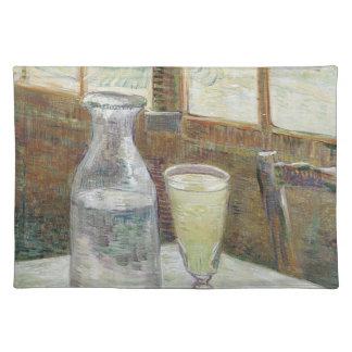 absinthのアメリカ人のMoJoのランチョンマットのCaféのテーブル ランチョンマット