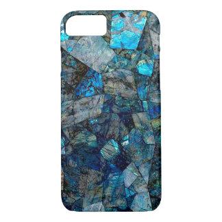 Abstract Labradorite Gems Mosaic Case iPhone 8 iPhone 8/7ケース