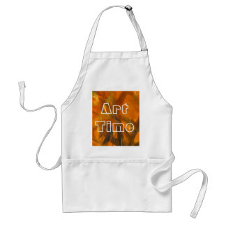 Abstract Painting Art Time Teacher's Apron スタンダードエプロン