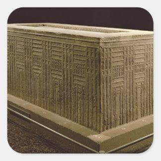 Abuのゴキブリ(石灰岩)からの石棺(3つをまた見て下さい スクエアシール