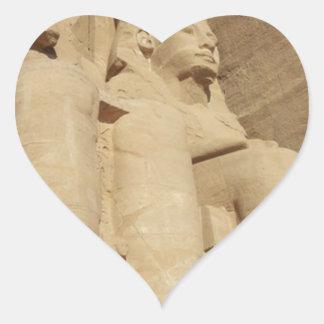 Abu Simbelの寺院エジプト ハートシール