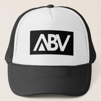 ABVの黒い網の帽子 キャップ