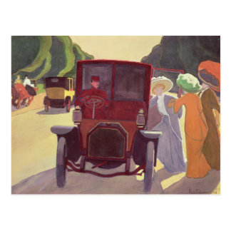 Acacias 1908年が付いている道 ポストカード