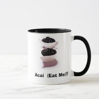 acai果実mibbowlofacaiberries、Acai (私を食べて下さい)!! マグカップ