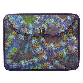 Acanthastreaの珊瑚パターン MacBook Proスリーブ