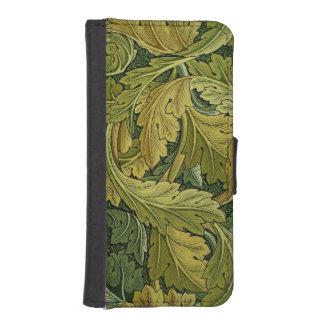 Acanthusの札入れの箱 iPhoneSE/5/5sウォレットケース