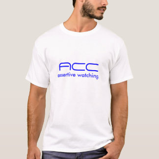 ACCの役人のワイシャツ Tシャツ