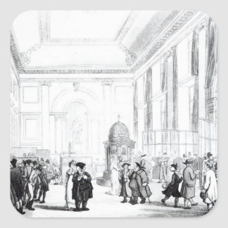 、Ackermannからの大広間イングランド銀行、 スクエアシール