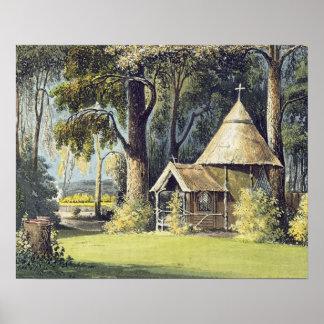 Ackermannの芸術の貯蔵場所からの隠者の住処、 ポスター