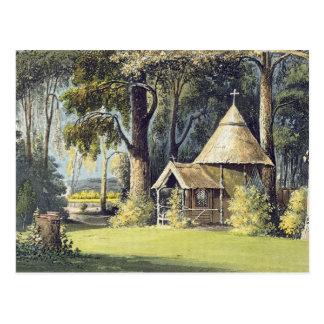Ackermannの芸術の貯蔵場所からの隠者の住処、 ポストカード