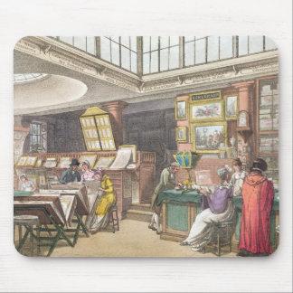 Ackermannの「芸術の貯蔵場所、Litからのインテリア マウスパッド