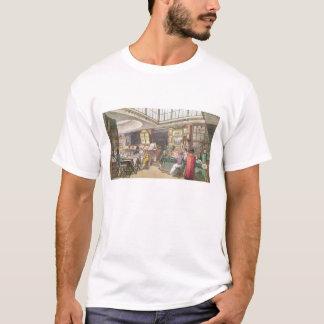 Ackermannの「芸術の貯蔵場所、Litからのインテリア Tシャツ