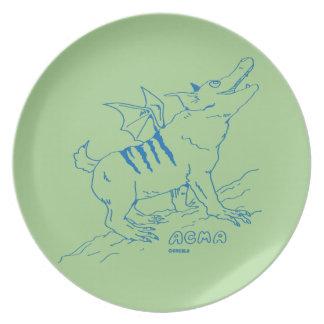ACMA Plate 【GREEN】 ディナープレート