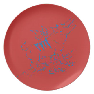 ACMA Plate 【RED】 皿