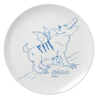 ACMA Plate 【WHITE】 パーティー皿
