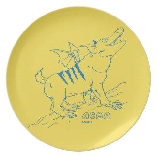 ACMA Plate 【YELLOW】 ディナー皿