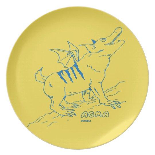 ACMA Plate 【YELLOW】 プレート