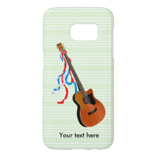 Acouticのベースギター Samsung Galaxy S7 ケース