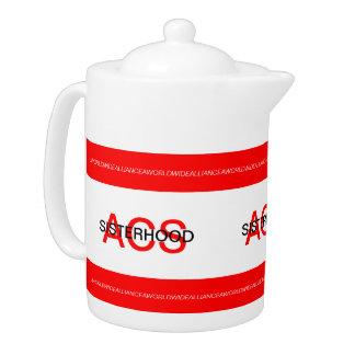 ACSの姉妹関係の茶ポット