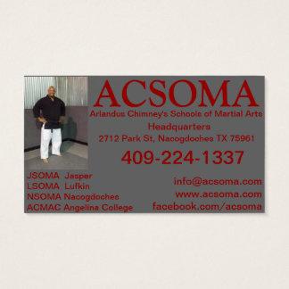 ACSOMAの名刺 名刺