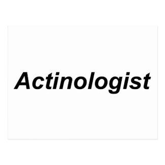 Actinologist ポストカード