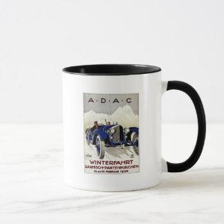 ADACのヴィンテージの自動車広告1925年 マグカップ