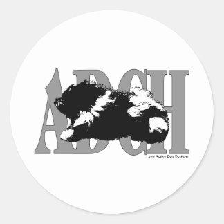 ADCHHavanese ラウンドシール