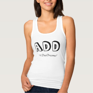 ADD, A DayDreamer タンクトップ