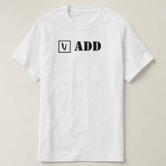 ADD; Check! Tシャツ