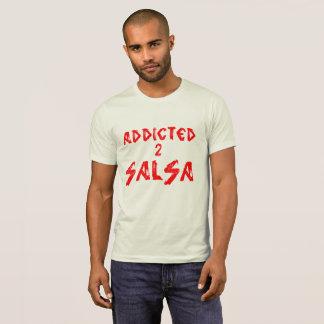 ADDICTED TO SALSA tshirt Tシャツ
