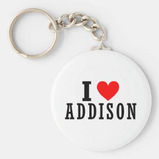 Addisonのアラバマ都市デザイン キーホルダー