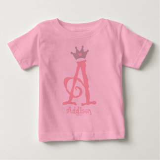- Addisonをカスタム設計して下さい ベビーTシャツ