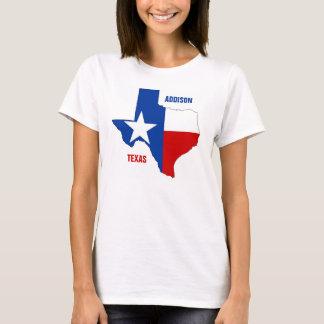 Addisonテキサス州 Tシャツ