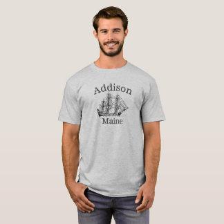 Addisonメインの高い船のワイシャツ Tシャツ