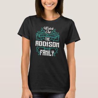 ADDISON家族。 ギフトの誕生日 Tシャツ
