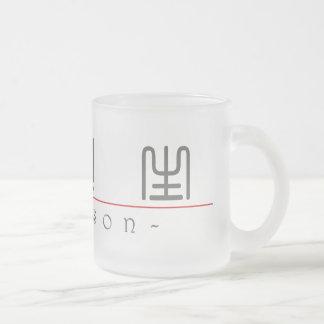 Addison 20396_0.pdfの中国のな名前 フロストグラスマグカップ