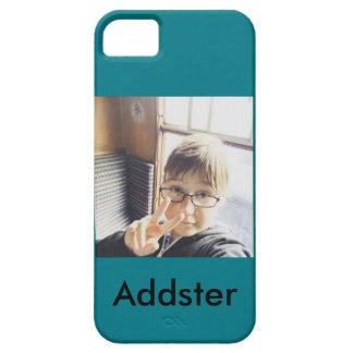 AddsterのiPhoneの場合(Iphone SE、5および5Sのために) iPhone SE/5/5s ケース