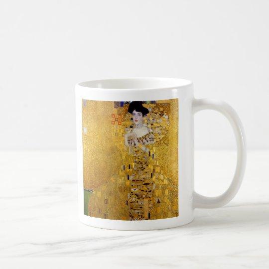 """ Adele Bloch-Bauer's Portrait "" , Gustav Klimt コーヒーマグカップ"