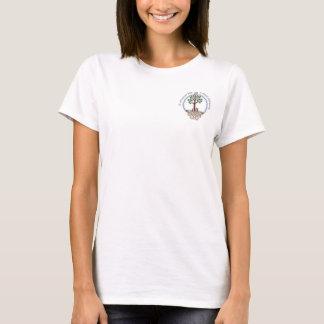 ADFの小型のロゴ Tシャツ