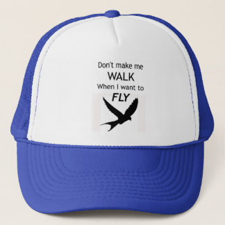 ADHDのやる気を起こさせるなトラック運転手の帽子か帽子-私は飛びたいと思います キャップ