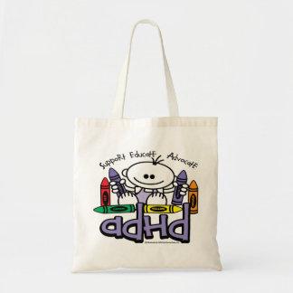ADHDのクレヨン トートバッグ